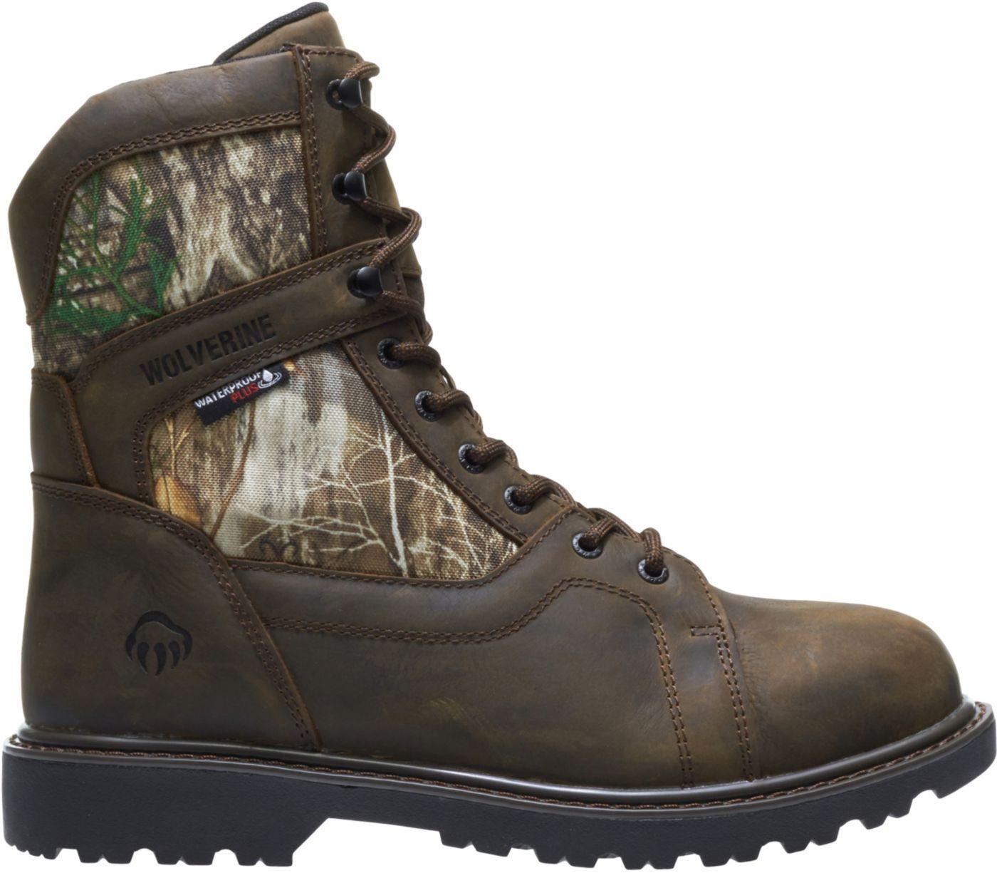 Wolverine Men's Blackhorn Realtree EDGE 8'' 600g Waterproof Hunting Boots