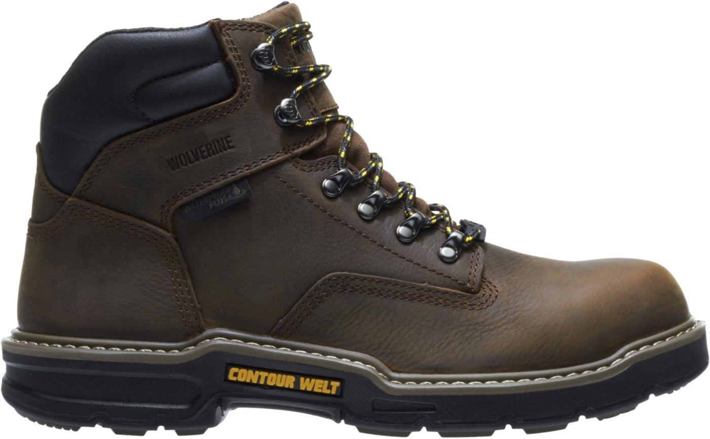 Wolverine Men's Bandit Carbonmax 6'' Waterproof Composite Toe Work Boots