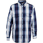 Wolverine Men's FireZero Flame Resistant 5.8 oz. Plaid Long Sleeve Twill Shirt