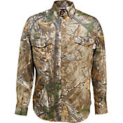Wolverine Men's FireZero Twill Button Down Long Sleeve Shirt