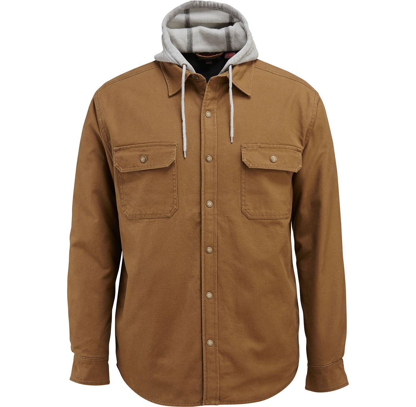 Wolverine Men's Overman Shirt Jacket (Regular and Big & Tall)
