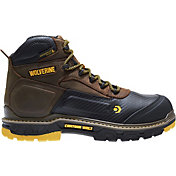 Wolverine Men's Overpass CarbonMAX 6'' 400g Waterproof Composite Toe Work Boots