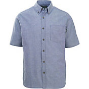 Woolrich Men's Weyland View Button Down Short Sleeve Shirt