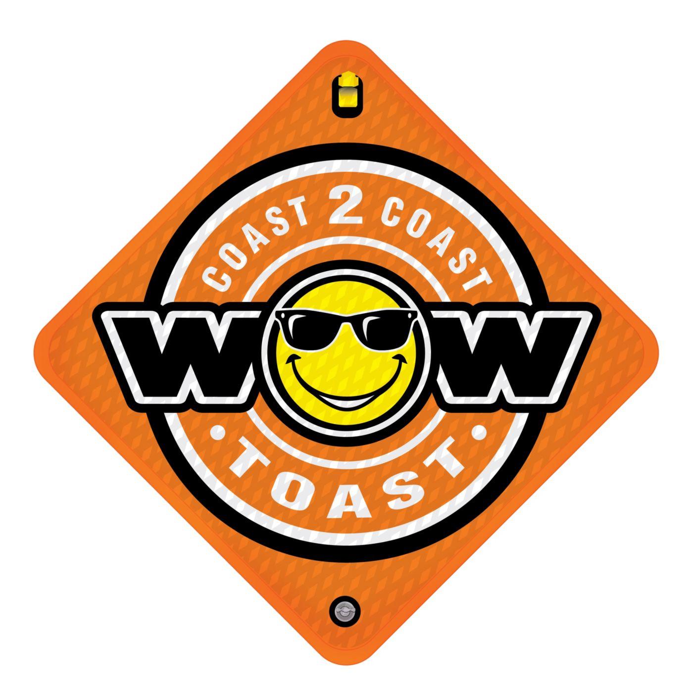 WOW Coast to Coast Toast 2-Person Towable