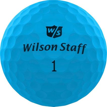 Wilson Staff Duo Soft Optix Blue Golf Balls