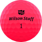 Wilson Staff Duo Soft Optix Pink Golf Balls
