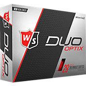 Wilson Staff Duo Soft Optix Red Golf Balls