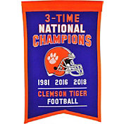 Winning Streak Sports 2018 National Champions Clemson Tigers Championship Banner