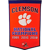 Winning Streak Sports 2018 National Champions Clemson Tigers Dynasty Banner
