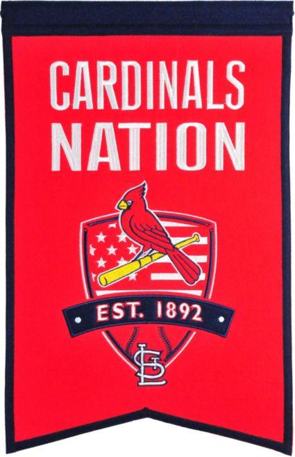 Winning Streak Sports St. Louis Cardinals Nation Banner