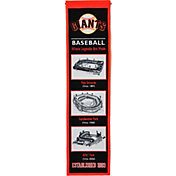 Winning Streak Sports San Francisco Giants Stadium Evolution Banner