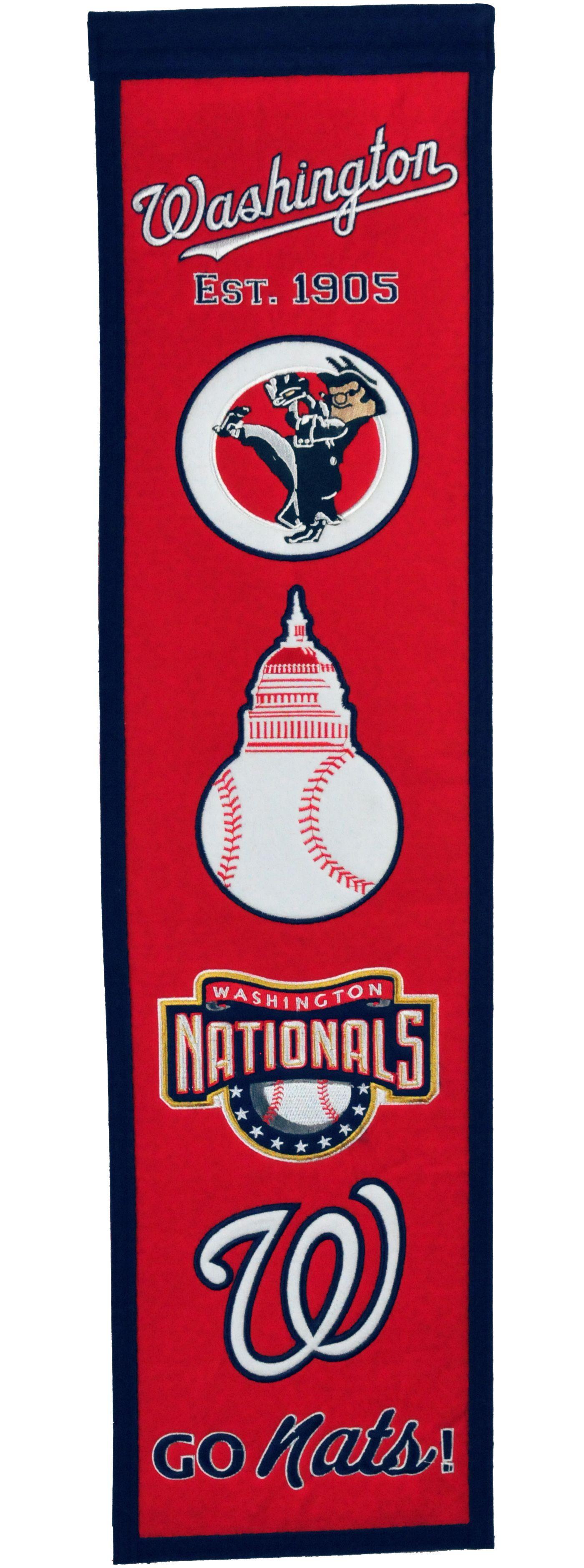 Winning Streak Sports Washington Nationals Heritage Banner