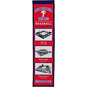 Winning Streak Sports Philadelphia Phillies Stadium Evolution Banner