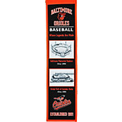 Winning Streak Sports Baltimore Orioles Stadium Evolution Banner