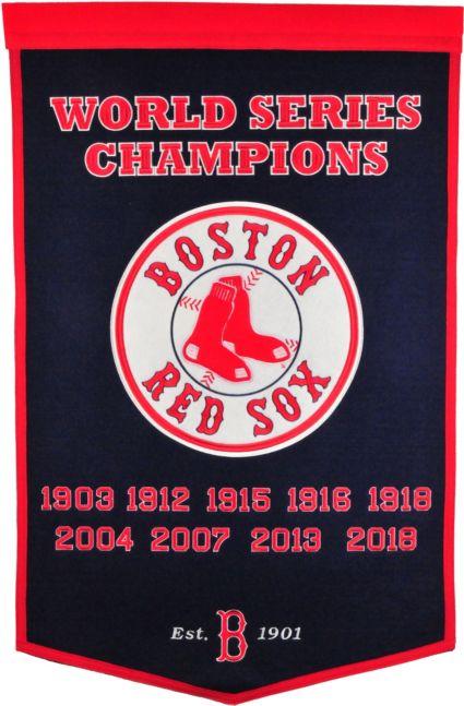 Winning Streak Sports 2018 World Series Champions Boston Red Sox Dynasty  Banner  47a67ad355e1