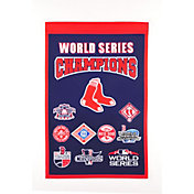 Winning Streak Sports 2018 World Series Champions Boston Red Sox Banner