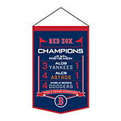 Winning Streak Sports 2018 World Series Champions Boston Red Sox Matchup Banner
