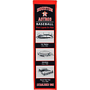 Winning Streak Sports Houston Astros Stadium Evolution Banner