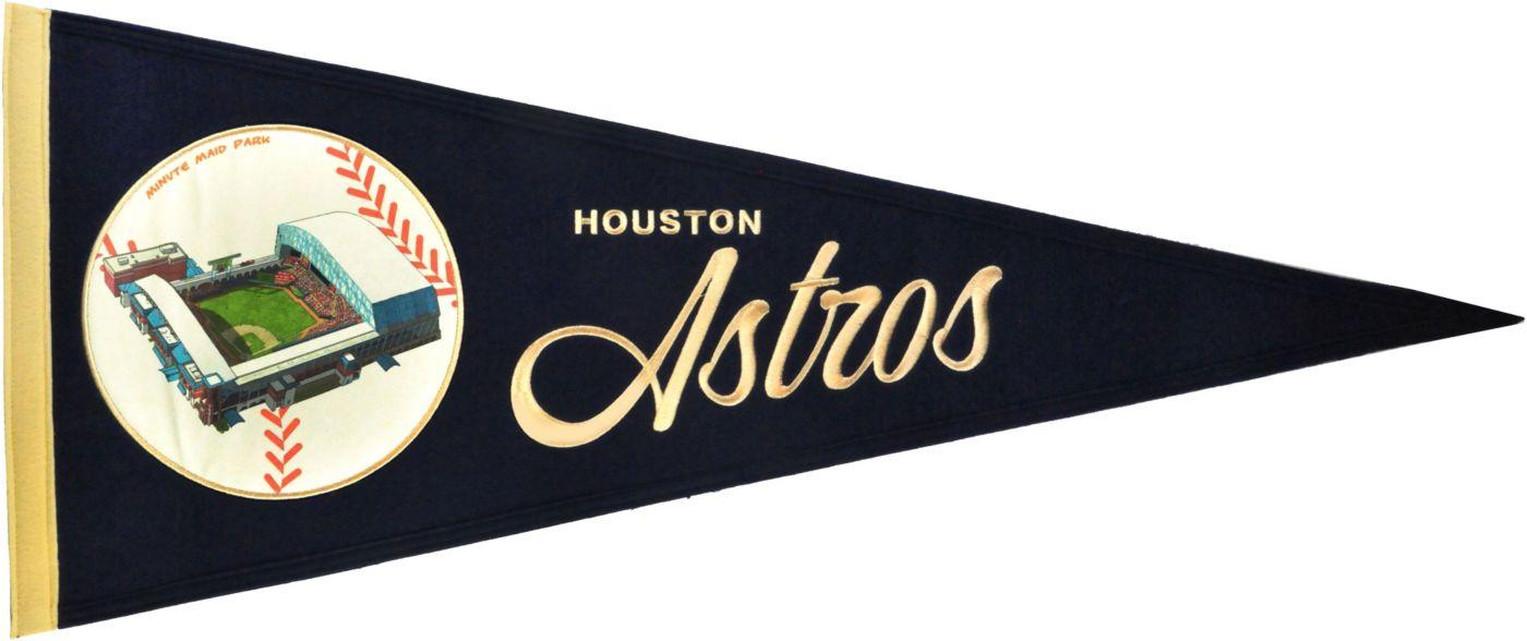 Winning Streak Sports Houston Astros Vintage Ballpark Pennant