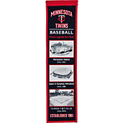 Winning Streak Sports Minnesota Twins Stadium Evolution Banner
