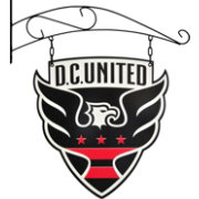 Winning Streak Sports D.C. United Tavern Sign
