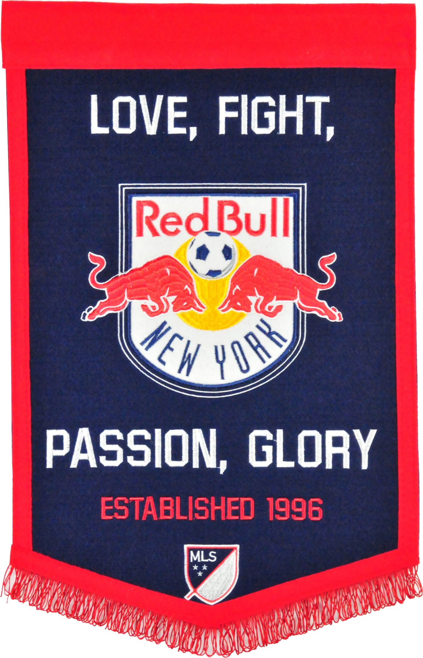 Winning Streak Sports New York Red Bulls Team Tradition Banner