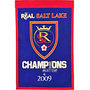 Winning Streak Sports Real Salt Lake Team Champions Banner