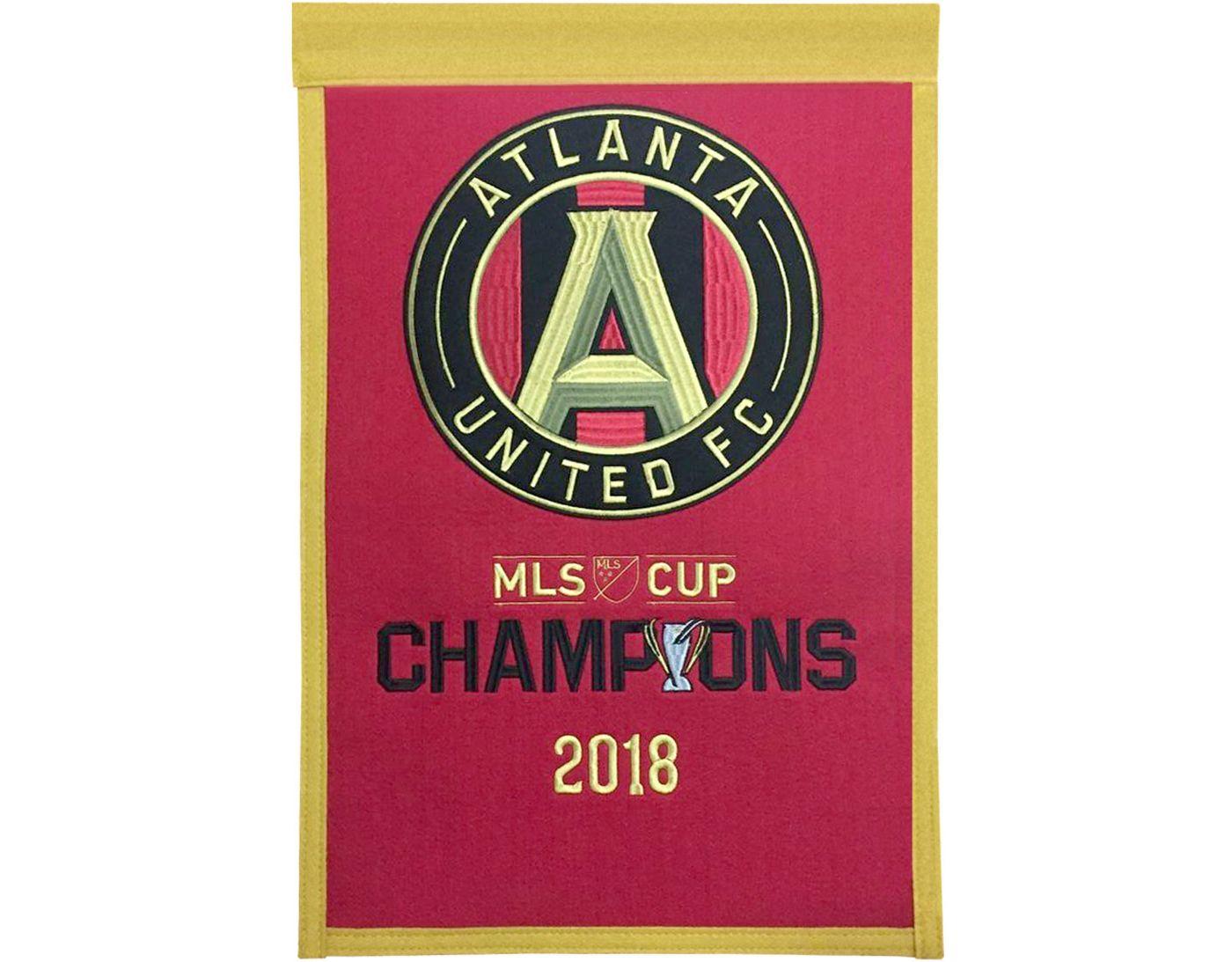 Winning Streak Sports MLS Championship Atlanta United Championship Banner