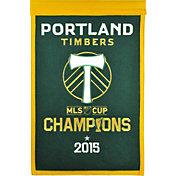 Winning Streak Sports Portland Timbers Team Champions Banner