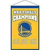 Winning Streak Sports 2018 NBA Champions Golden State Warriors Champions Banner