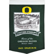 Winning Streak Sports Oregon Ducks Stadium Banner