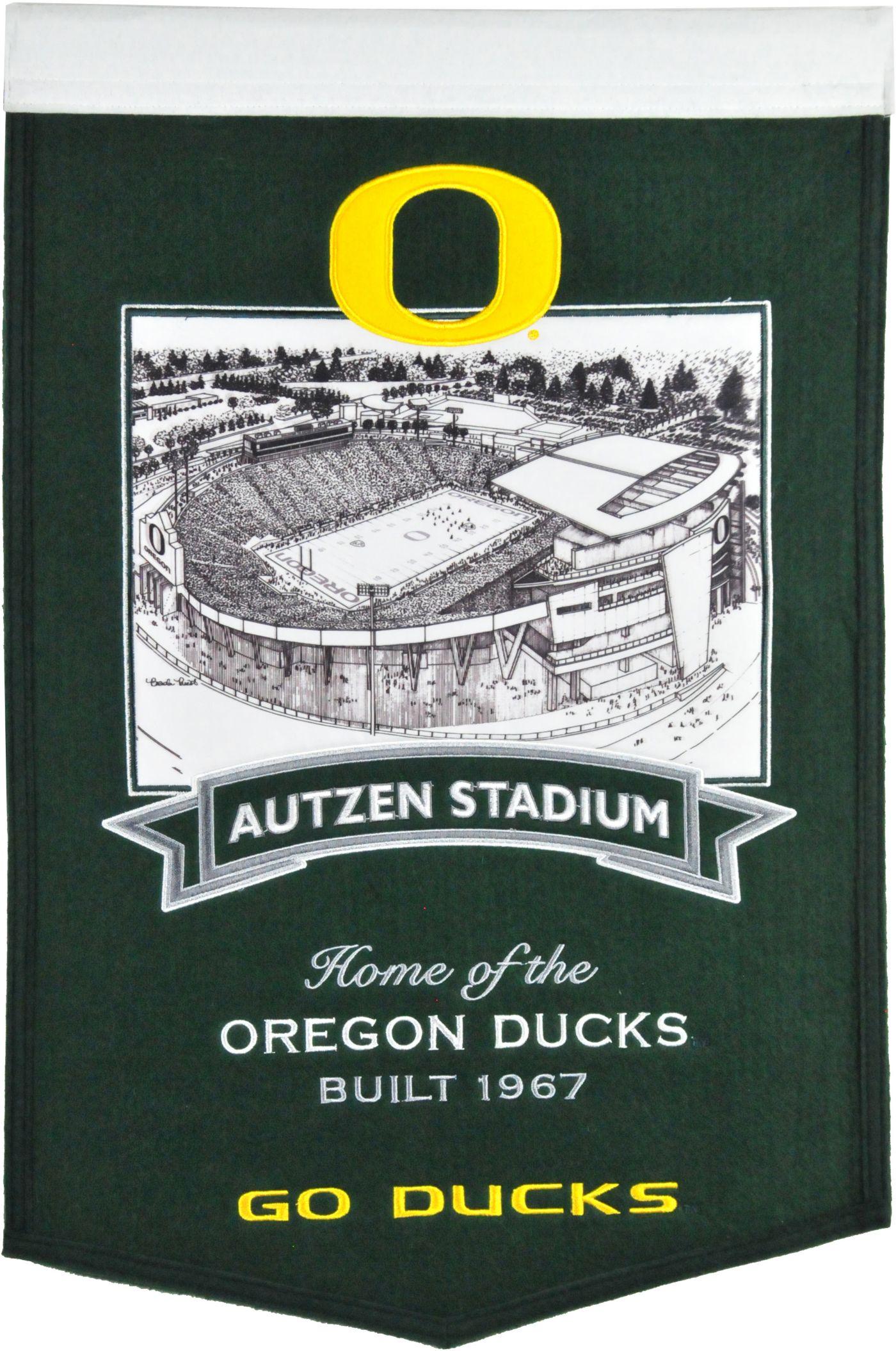 Winning Streak Sports Oregon Ducks Stadium Banner