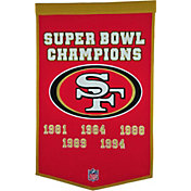 Winning Streak Sports San Francisco 49ers Dynasty Banner