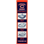Winning Streak Sports Chicago Bears Stadium Evolution Banner