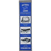 Winning Streak Sports Detroit Lions Stadium Evolution Banner