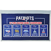 Winning Streak Sports New England Patriots Repeat Rafter Banner