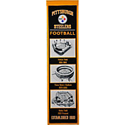 Winning Streak Sports Pittsburgh Steelers Stadium Evolution Banner