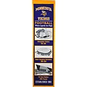 Winning Streak Sports Minnesota Vikings Stadium Evolution Banner