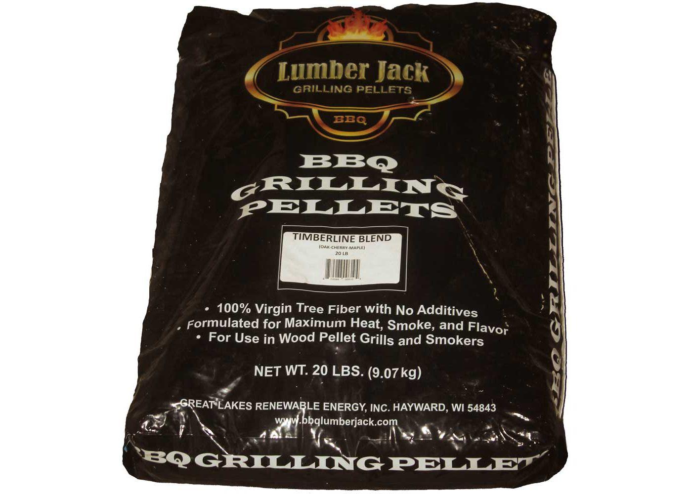 Lumber Jack Timberline Blend Pellets