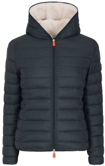 newest collection c12bb cfb9c Save The Duck Women's Giga Hooded Jacket