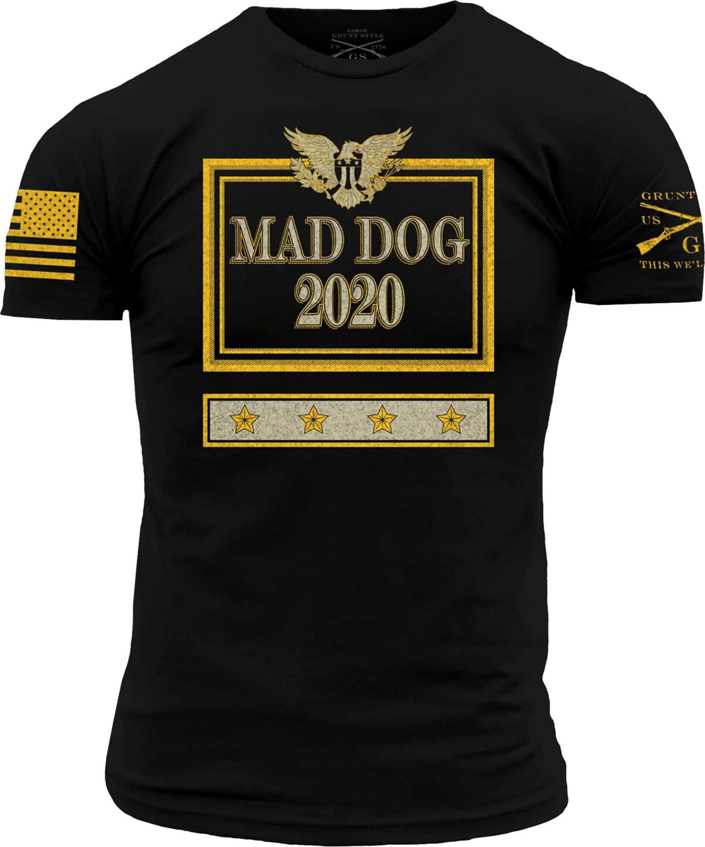 Grunt Style Men's Mad Dog 2020 Short Sleeve T-Shirt
