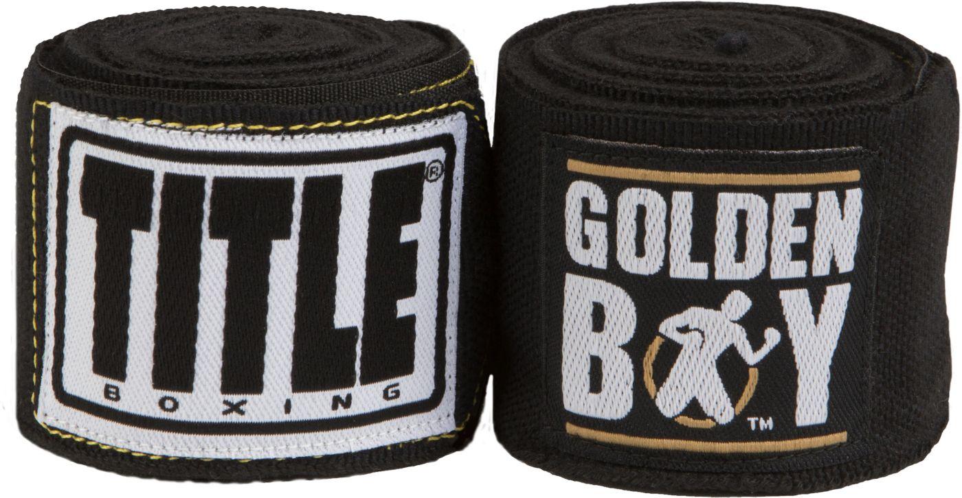 TITLE Golden Boy Elite Stretch Hand Wraps