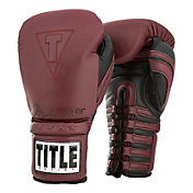 TITLE Ali Authentic Leather Lace Training Gloves