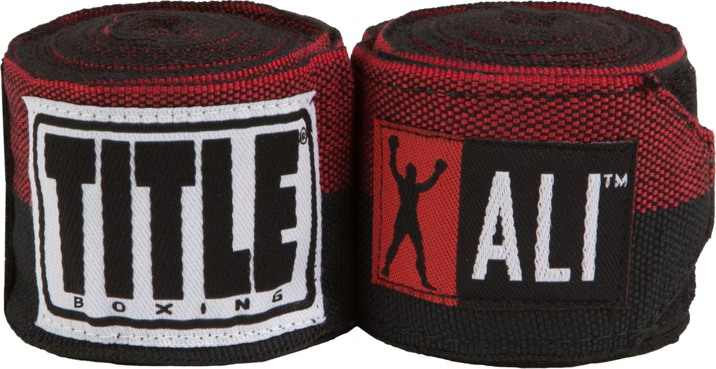 TITLE Muhammad Ali Semi-Stretch Hand Wraps