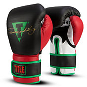 TITLE Oscar De La Hoya Signature Bag Gloves