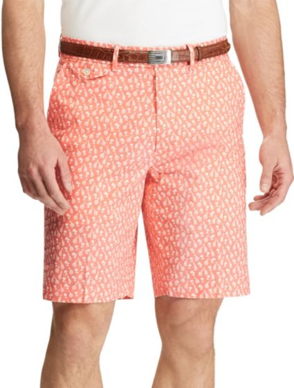 Polo Golf Men's Printed Stretch Twill Golf Shorts