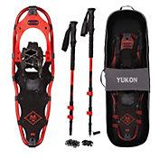 Yukon Charlie's Adult Advanced Spin Snowshoe Kit