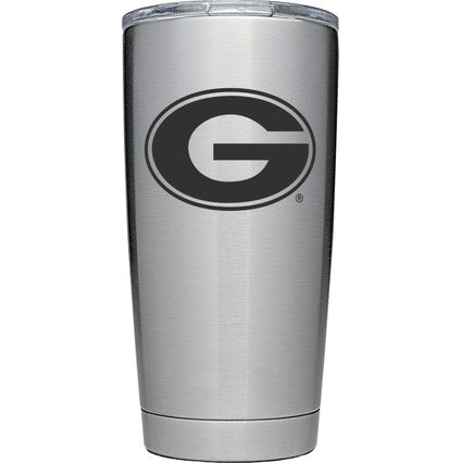 YETI Georgia Bulldogs 20 oz. Rambler Tumbler with MagSlider Lid