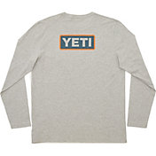 YETI Men's Badge Logo Long Sleeve Shirt