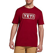 YETI Men's Core Badge Logo Short Sleeve T-Shirt